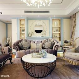 法式浪漫客厅装修