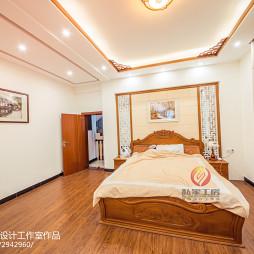 优雅中式风格卧室装饰图