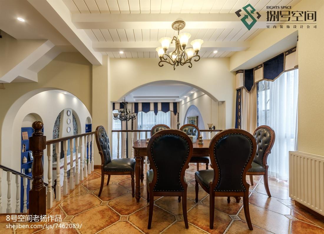 别墅地中海风格餐厅装修