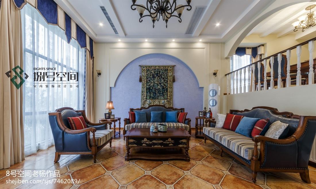 别墅地中海风格客厅设计