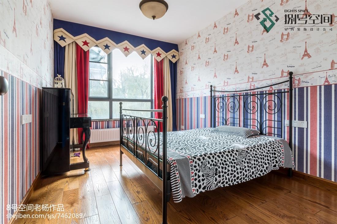 大气地中海风格别墅卧室设计