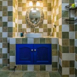 地中海风格卫浴柜装修