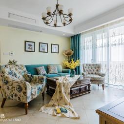 温馨美式客厅设计案例