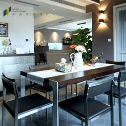 浪漫现代风格餐厅设计