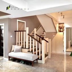 现代风格别墅楼梯效果图