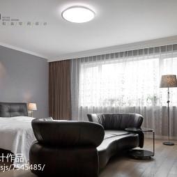 大气现代风格别墅卧室设计