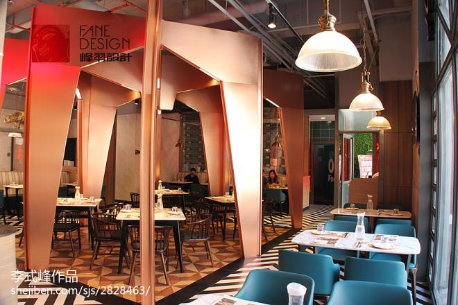 餐厅创意就餐区设计