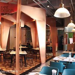餐廳創意就餐區設計