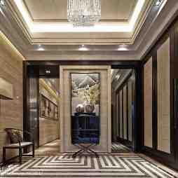 豪华现代风格别墅过道设计