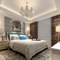 精致简欧风格卧室效果图