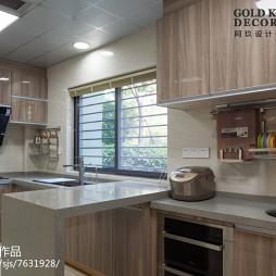 美式现代厨房设计