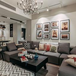 文艺现代风格客厅设计