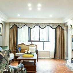 时尚美式别墅客厅装修
