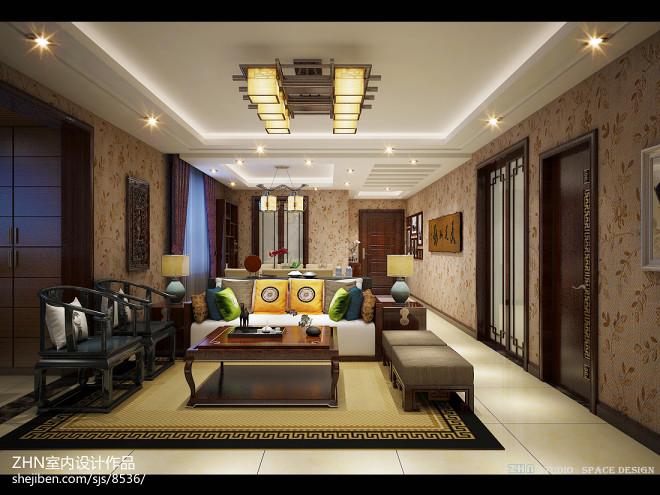 中式家居空间设计_2605247