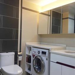 现代风格卫浴洗衣机图片