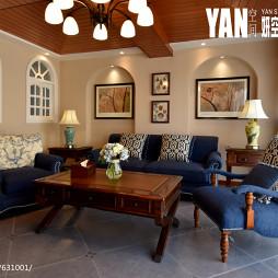 美式风格创意客厅装修