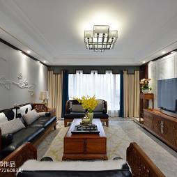 高雅中式客厅装修
