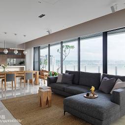 简约日式客厅装修