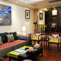 中式风格别墅客厅装修图