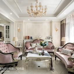 豪华欧式别墅客厅设计