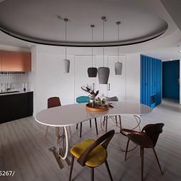 时尚简约二居室餐厅设计