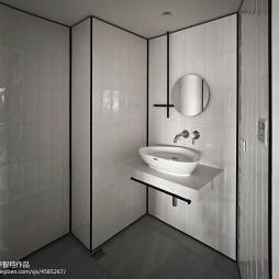简约风格二居室卫浴设计