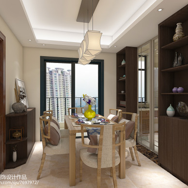 新中式三房两厅两卫一厨_2618338
