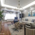 清新美式客厅装修大全