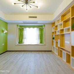 清爽现代风格卧室装饰图