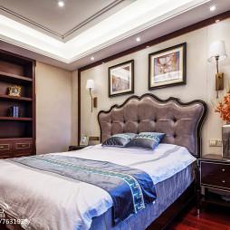轻奢新古典风格卧室装修