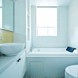 北欧风格卫浴浴缸装修