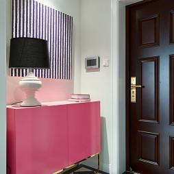 中式风格玄关柜设计