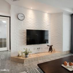 简欧风格白色背景墙设计