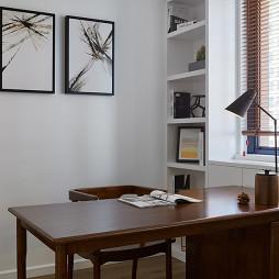 简约风格小书房装修
