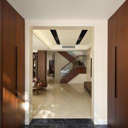 现代别墅玄关装修