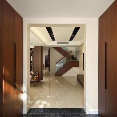 現代別墅玄關裝修