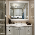 最新美式卫浴洗手台设计