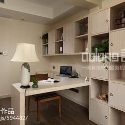简约中式书房设计