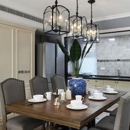 美式四居室餐厅设计