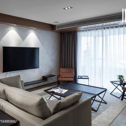 艺术现代风格客厅装修