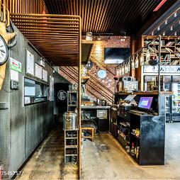 混搭风格餐厅前台设计