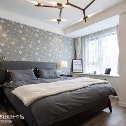 北欧风格卧室背景墙设计