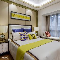 样板间现代风格卧室设计