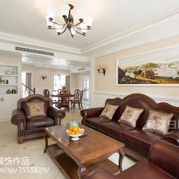 美式复古沙发布置