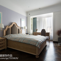 法式风格卧室墙漆