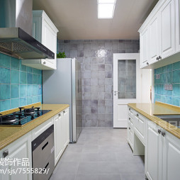 美式大气厨房设计