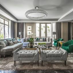 现代格调别墅客厅设计