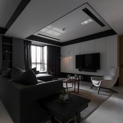 台式现代风格客厅装修