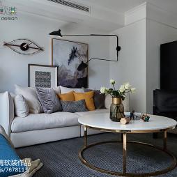 现代风格创意沙发背景墙