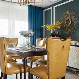 美式餐厅桌椅